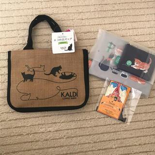 カルディ(KALDI)の猫の日 バッグ セット(トートバッグ)