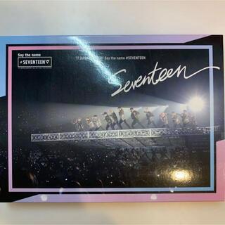 SEVENTEEN - seventeen say the name  DVD