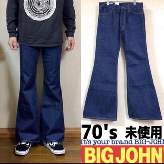 BIG JOHN - ビッグジョン  フレアデニム ベルボトム