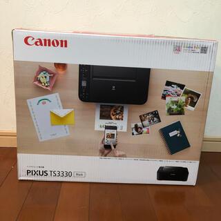 Canon - キヤノンインクジェット複合機 TS3330 BLACK PIXUS プリンター