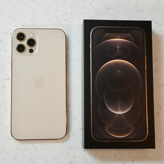 Apple - iPhone 12 Pro 128GB ゴールド SIMフリー 美品