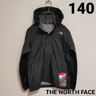 THE NORTH FACE - ノースフェイス 140 ナイロンジャケット ブラック 黒 新品マウンテンパーカー