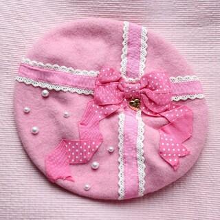 アンジェリックプリティー(Angelic Pretty)のangelicpretty ミニベレー帽(ハンチング/ベレー帽)