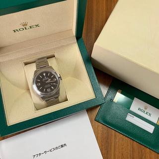 ROLEX - ロレックス  214270 エクスプローラー1 鏡面 2018年 正規品 極美品