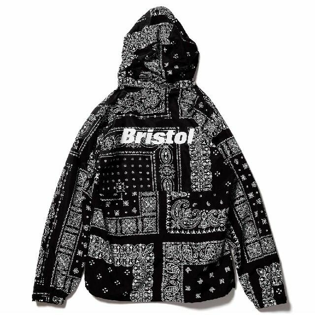 F.C.R.B.(エフシーアールビー)のF.C.Real Bristol A BLACK BANDANA XL メンズのジャケット/アウター(ナイロンジャケット)の商品写真