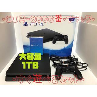 PlayStation4 - 【大容量・美品】ps4 本体 ブラック PlayStation®4