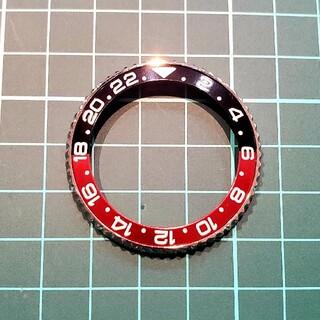 セイコー(SEIKO)のSRPD55純正ベゼル  SEIKO  MOD  カスタム用 コークベゼル(その他)