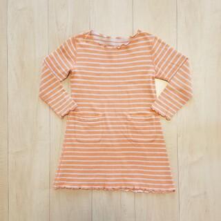 ニッセン(ニッセン)の長袖 ワンピース 110センチ(ワンピース)