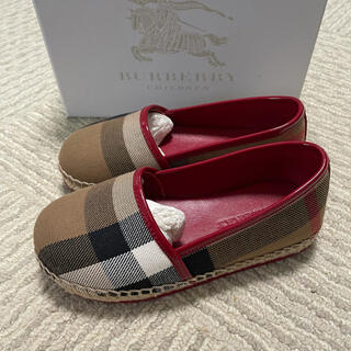 BURBERRY - Burberry  靴 16.5cm  新品