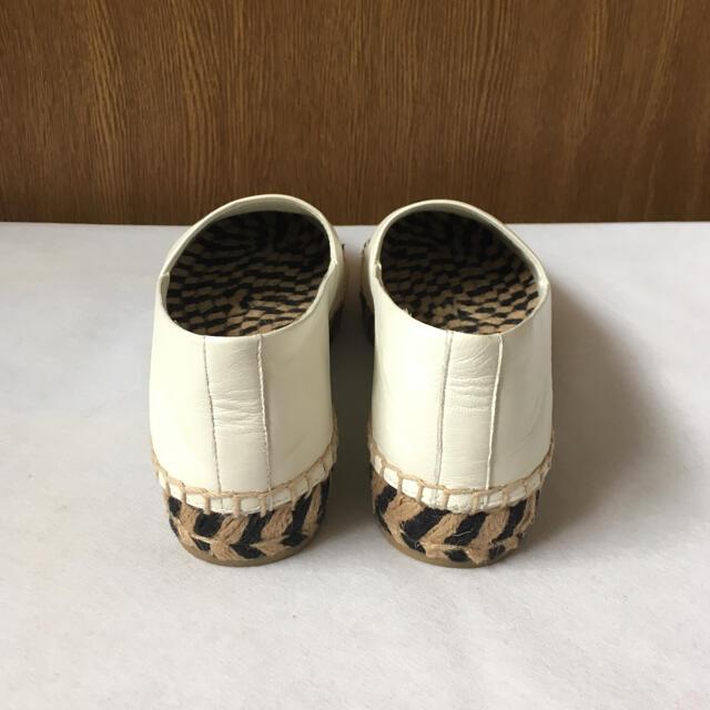 Tory Burch(トリーバーチ)の美品 トリーバーチ エスパドリーユ レディースの靴/シューズ(スリッポン/モカシン)の商品写真