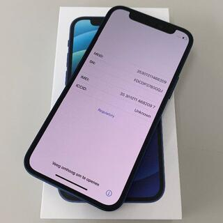 Apple - 新品 Simフリー iPhone 12 mini 128GB Blue