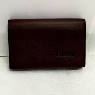 BMW - 送料無料!BMW/最高級本革/名刺入れ/カードケース/未使用品