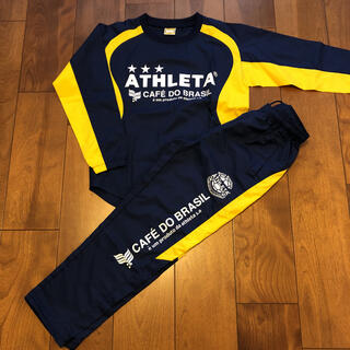 ATHLETA - アスレタ サッカーウェア ジュニアピステ上下 サイズ140