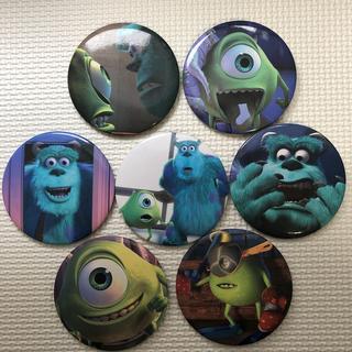 Disney - モンスターズインク 缶バッチ 7点