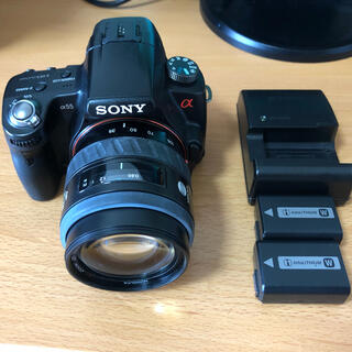 SONY - SONY α55本体+おまけ予備バッテリーとレンズ付き 完動品