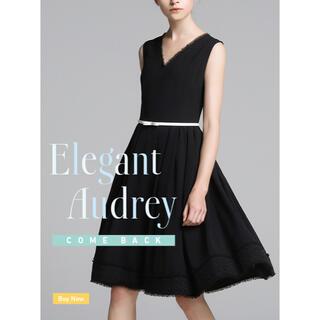 FOXEY - フォクシー ワンピース Elegant Audrey  ブラック 42サイズ