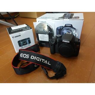Canon - レンズ付き!過去10年で最も売れた一眼シリーズ EOS Kiss X4