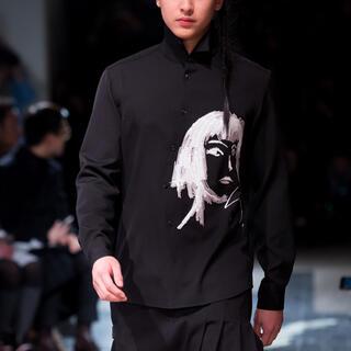 Yohji Yamamoto - 名作ヨウジヤマモト  rie スパンコール刺繍 シャツ G-DRAGON着用