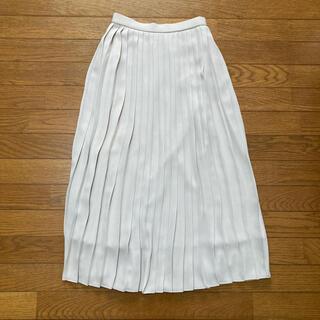 UNIQLO - シフォンプリーツロングスカート