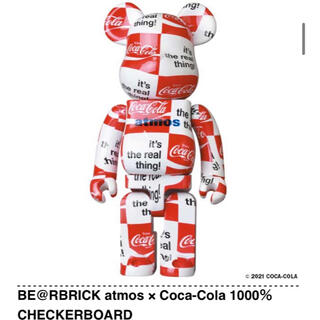 BE@RBRICK atmos × Coca-Cola 1000%