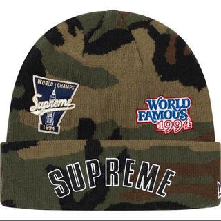 Supreme - Supreme シュプリーム ニューエラ ビーニー  ニット帽 迷彩