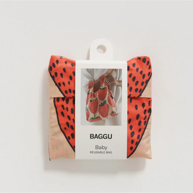 EDIT.FOR LULU(エディットフォールル)のbaggu baby ストロベリー レディースのバッグ(エコバッグ)の商品写真