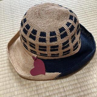 ヴィヴィアンウエストウッド(Vivienne Westwood)のヴィヴィアン 麦わら帽子(麦わら帽子/ストローハット)