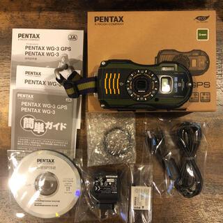 PENTAX - 【美品】PENTAX WG-3 GPS GREEN