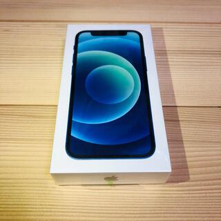 アップル(Apple)の【カナダ版】iPhone 12 mini ブルー 256GB SIMフリー交渉可(スマートフォン本体)