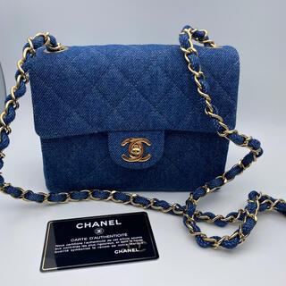 CHANEL - Chanel/シャネル デニムショルダーバッグ