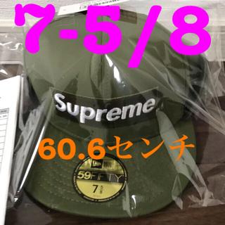 シュプリーム(Supreme)のsupreme newera シュプリーム  ニューエラー 新品未使用品(キャップ)