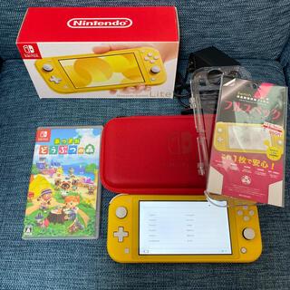 Nintendo Switch - 【朝迄値下げ】美品NintendoSwitchLite あつまれどうぶつの森
