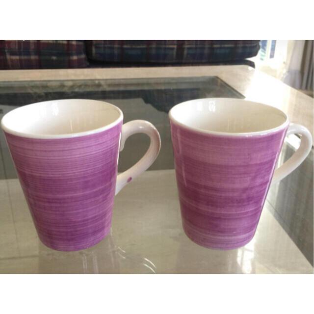 ZARA HOME(ザラホーム)のザラホーム  マグカップ 2客セット インテリア/住まい/日用品のキッチン/食器(グラス/カップ)の商品写真