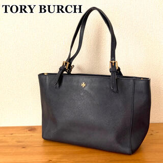 Tory Burch - TORY BURCH トリーバーチ PVCレザー トートバッグ ネイビー 人気