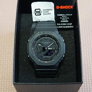 ジーショック(G-SHOCK)の【新品未使用】G-SHOCK  GA-2100-1A1JF カシオーク(腕時計(デジタル))