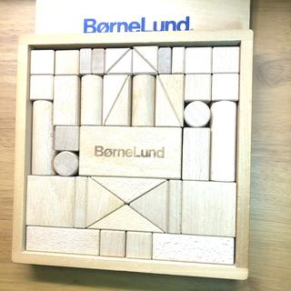 BorneLund - 【美品】ボーネルンド  オリジナル積み木 S 欠品ピースなし41ピース完全品!