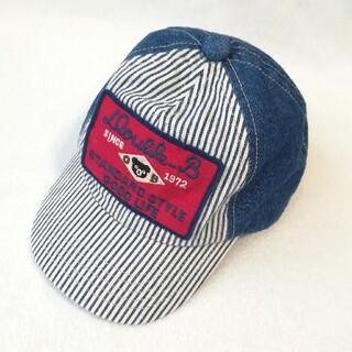 DOUBLE.B - 未使用 ダブルビー ミキハウス S(48~50) 帽子 キャップ デニム