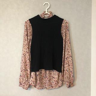ロキエ(Lochie)のUsed printed high—neck shirts(シャツ/ブラウス(長袖/七分))