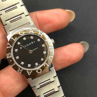 BVLGARI - S級❗️ブルガリ BB26 ダイヤ付き腕時計
