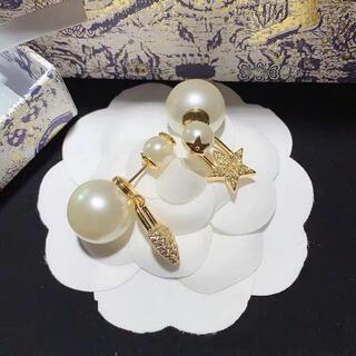 Dior - Dior ディオール J'ADIOR ジャディオール  星×ハート鍵パールピアス