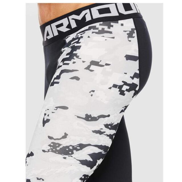 UNDER ARMOUR(アンダーアーマー)のアンダーアーマー ヒートギア タイツ サイズL メンズのレッグウェア(レギンス/スパッツ)の商品写真