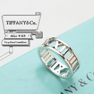 Tiffany & Co. - 新品仕上げ TIFFANY ティファニー アトラス オープン 13.5号 リング