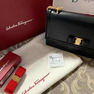 Salvatore Ferragamo - フェラガモ 鞄とバレッタセット