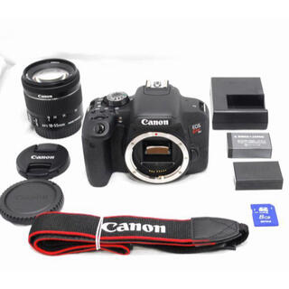 Canon - 美品 Canon キヤノン Kiss X9i EF-S 18-55mm STM