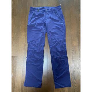 マムート(Mammut)のマムート ランボールドパンツ MAMMUT pants メンズ L パープル(ワークパンツ/カーゴパンツ)