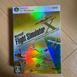マイクロソフト(Microsoft)のマイクロソフト フライトシュミレーターX(PCゲームソフト)