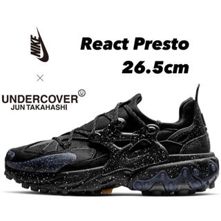 UNDERCOVER - NIKE × UNDERCOVER REACT PRESTO ブラック 26.5