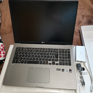 極美品 LG ノートパソコン gram 17インチ 2020(ノートPC)
