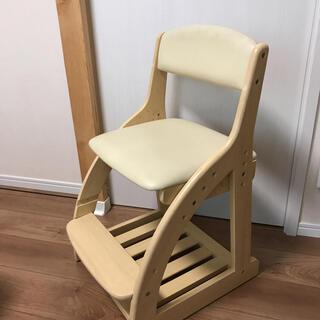 ニトリ(ニトリ)のニトリ  学習椅子 木製 チェア(デスクチェア)
