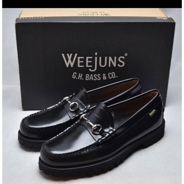 G.H.BASS(ジーエイチバス)の【新品】G.H BASS ビットローファー LINCOLN  黒  US8 メンズの靴/シューズ(スリッポン/モカシン)の商品写真